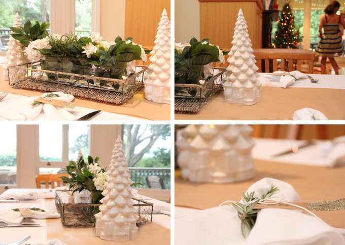 Christmas tablescape image 1