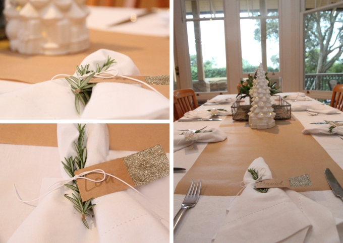 Christmas tablescape image 2