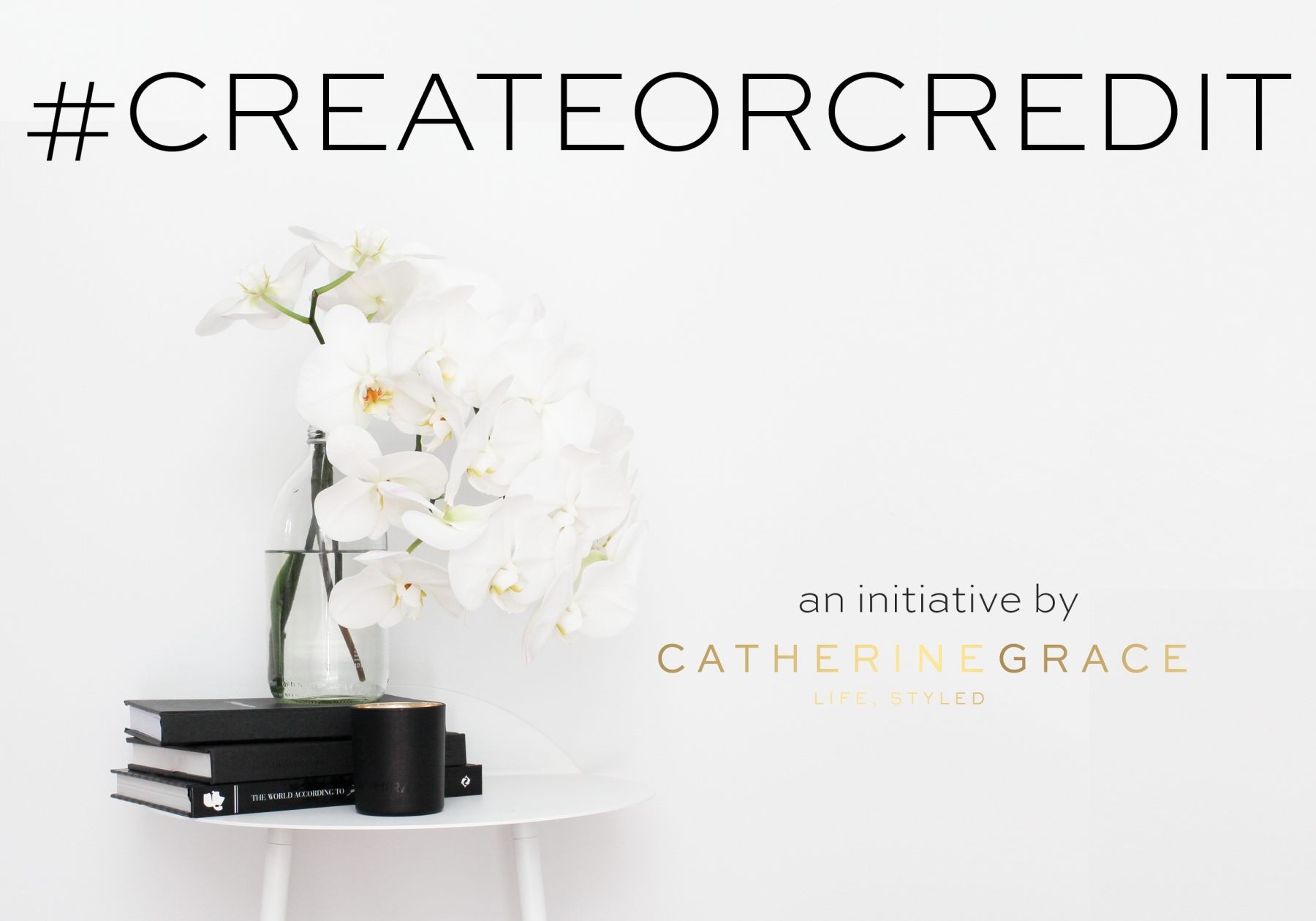 #createorcredit | Image by CATHERINEGRACE | www.catherinegrace.com.au