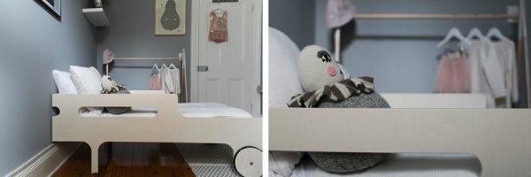 #06 - Toddler bed - childrens interior design - styling and photography by catherine and grace - copyright 2014
