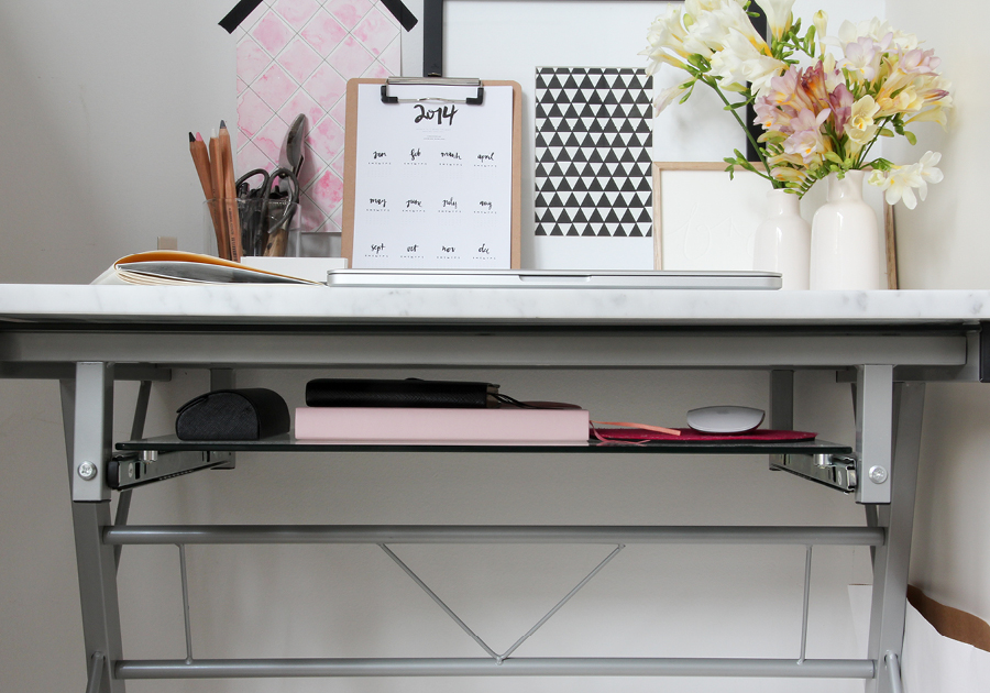 The space swap {part 2}: creative work space makeover for ...