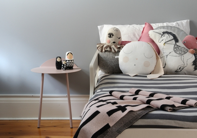 #09 - Toddler bed - childrens interior design - styling and photography by catherine and grace - copyright 2014
