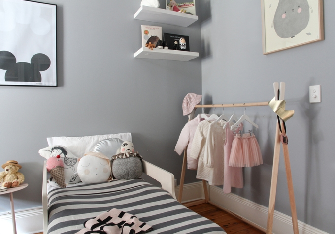 #11 - Toddler bed - childrens interior design - styling and photography by catherine and grace - copyright 2014