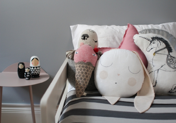 #18 - Toddler bed - childrens interior design - styling and photography by catherine and grace - copyright 2014