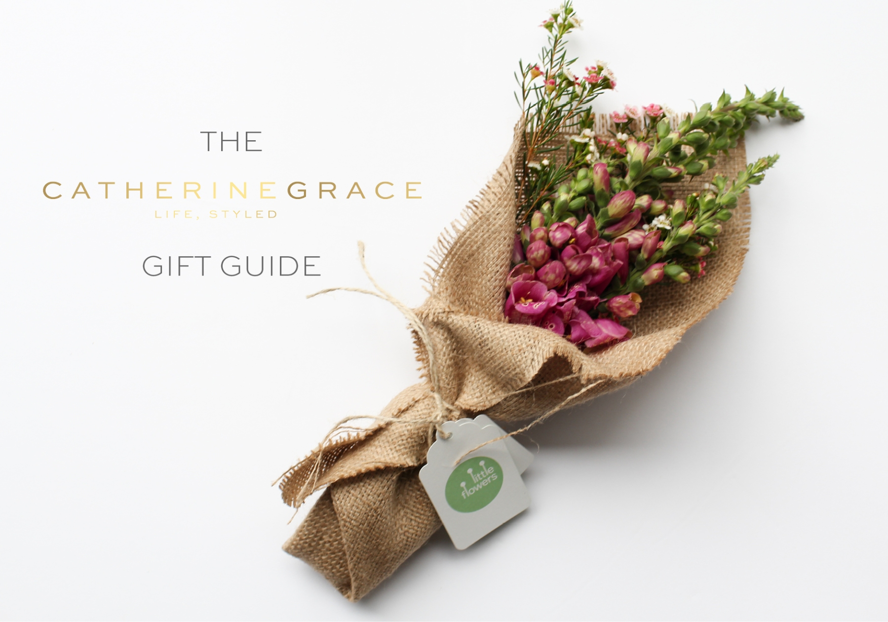 The CATHERINEGRACE gift guide | www.catherinegrace.com.au