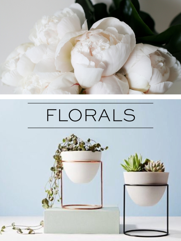 Wish list #01 FLORALS - Christmas 2015